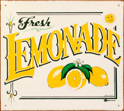 Just in case life gives you lemons….